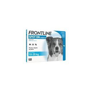 Frontline spot on chien 10-20kg bte 6 pipettes