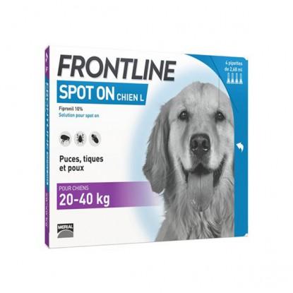 Frontline Combo chien 20-40 kg bte de 6