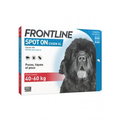 FRONTLINE spot on chien +40kg bte 6
