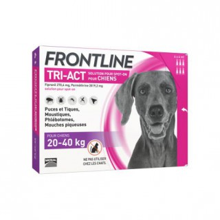 Frontline TRI-ACT Chiens 20-40 kg 6 pipettes