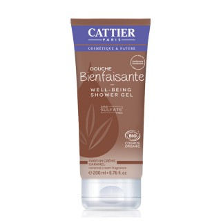 Cattier Douche bienfaisante parfum caramel 200ml
