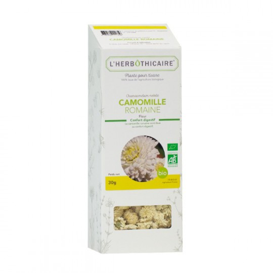 L'herbothicaire tisane Camomille romaine bio 30g