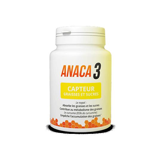 Anaca3 Capteur graisses et sucres 60 gélules
