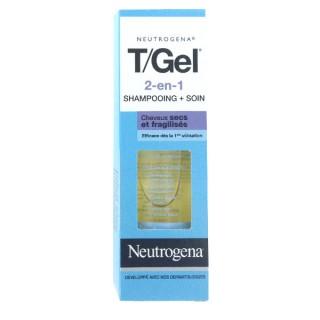 Neutrogena T/GEL shampooing 2en1 cheveux secs 125ml