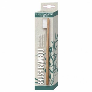 Superwhite Brosse à dents en bambou souple