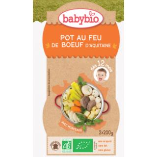 Babybio Pot au feu de boeau fermier d'aquitaine dès 12 mois 2*200g