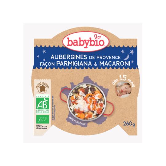 Babybio aubergine façon moussaka agneau français dès 8 mois 2*200g