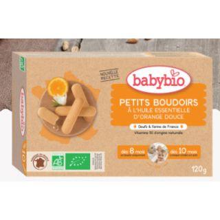 BABYBIO Boudoirs 120g