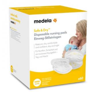Medela Coussinets d'allaitement à usage unique x60
