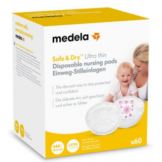 Medela Coussinets d'allaitement à usage unique ultra-thin x60
