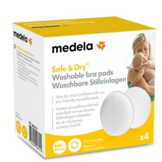 Medela Coussinets d'allaitement lavable x4