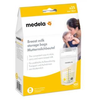 Medela Sachet de conservation pour le lait maternel x25