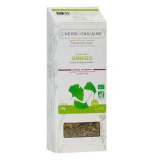 L'herbôthicaire tisane Ginkgo 70g