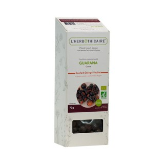 L'herbôthicaire tisane Guarana 70g