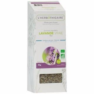 L'herbôthicaire tisane Lavande vraie 50g
