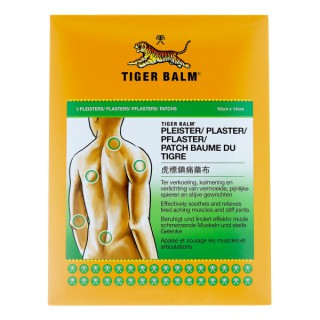 Baume du tigre 3 patchs soulagement muscles endoloris