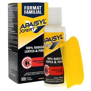Apaisyl Expert anti-lice Lotion + comb