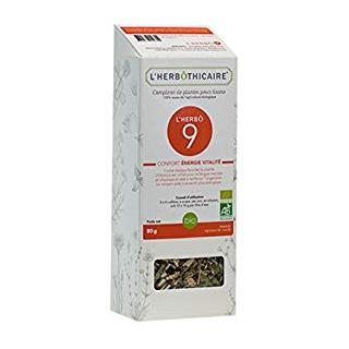 L'herbôthicaire L'herbô 9 confort énergie / vitalité 80g