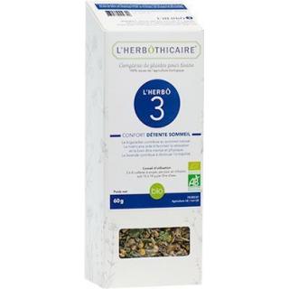 L'herbôthicaire L'herbô 3 Confort détente sommeil 60g