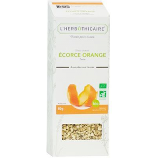 L'herbôthicaire Tisane Zeste Orange 80 g