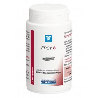 Nutergia Ergy 3 - 50 capsules