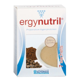 Nutergia Ergynutril saveur cappuccino - 7 sachets