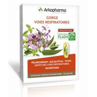 Arkopharma Gorge et voies respiratoires 30 gélules