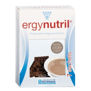 Nutergia Ergynutril saveur chocolat chaud - 7 sachets