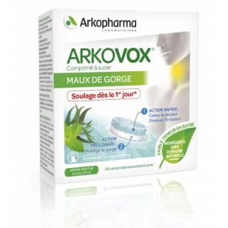 Arkopharma Arkovox 20 comprimés bicouches à sucer