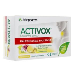 Arkopharma Activox 24 comprimés à sucer