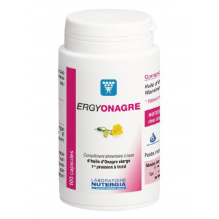 Nutergia Ergy-onagre anciennement Bioleine 100 Capsules