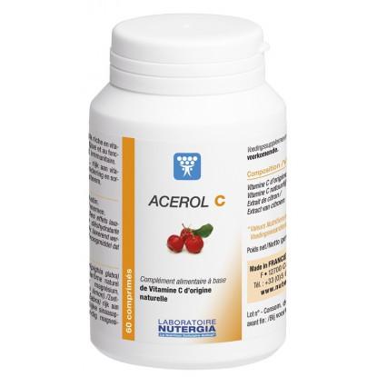 Nutergia Acerol C - 60 comprimés