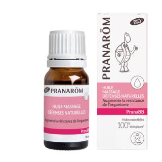 """Pranabébé huile de massage """"Immunité"""" 10ml"""