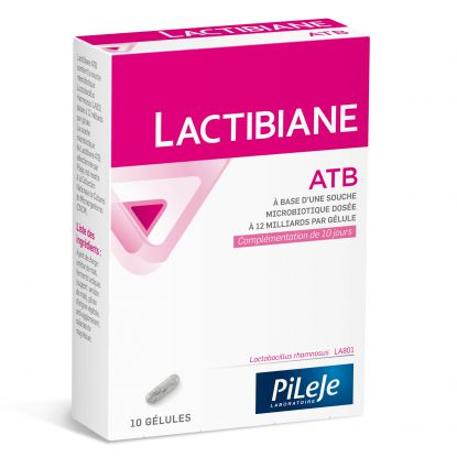 Pileje Lactibiane ATB - 10 gélules