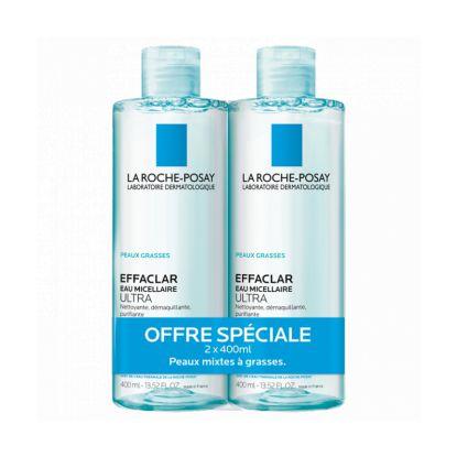 La Roche Posay Effaclar micellar water package
