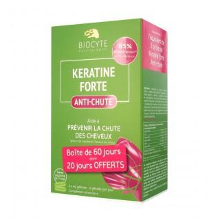 Biocyte Kératine forte anti-chute - 3 x 40 gélules