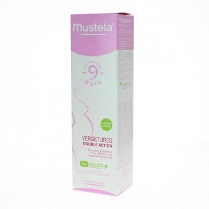 Mustela 9 mois crème vergeture double action 150ml
