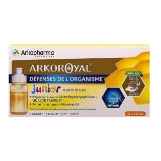 Arkoroyal Junior défenses de l'organisme - 5x10ml