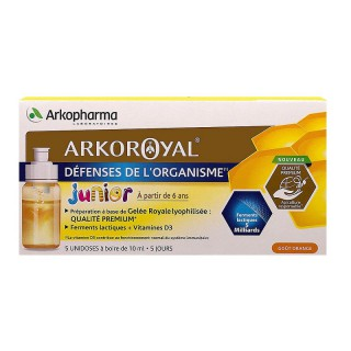 Arkoroyal Junior défenses de l'organisme - 5x10ml