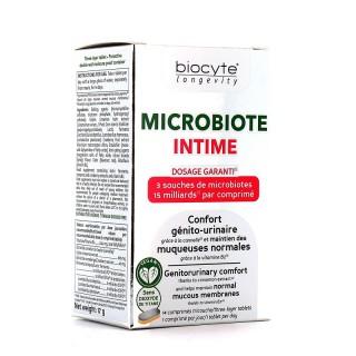 Biocyte Longevity Microbiote Intime - 14 comprimés