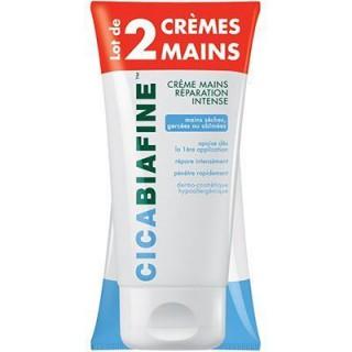Cicabiafine crème mains réparation intense 2x75ml