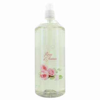 Gravier shampooing gel douche bio rose d'antant 1L