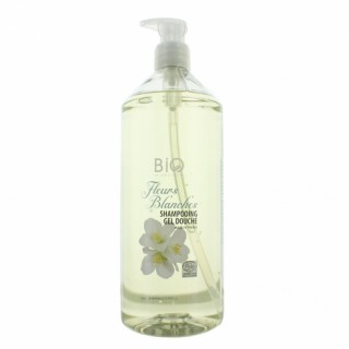Gravier shampooing douche fleurs blanches 1L