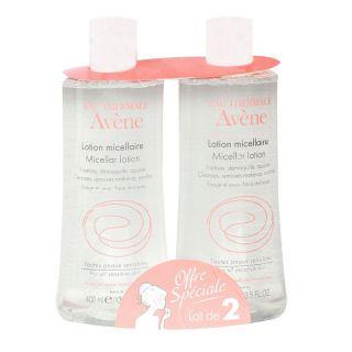 Avène Micellar cleansing & Makeup removing lotion 400ml x 2