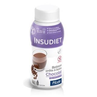 Insudiet Boisson prête à boire Chocolat 3 x 200 ml