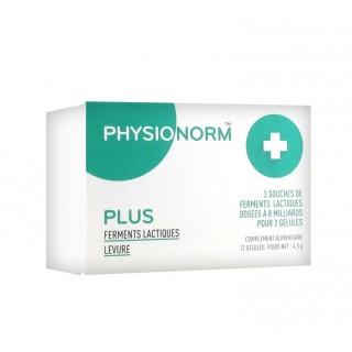 Immubio Physionorm Plus - 12 gélules