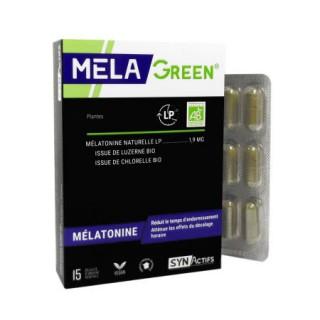 Synactifs Mela green 15 gélules