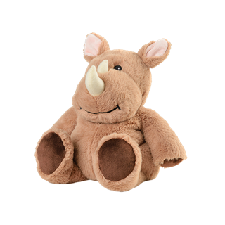 Soframar bouillotte peluche cozy rhino