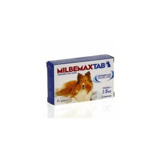 Milbemaxtab vermifuge chiens dès 5 kg - 2 comprimés
