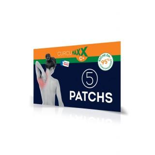CurcumaXX Patchs autocollants C+ - 5 patchs 16cm x 11cm